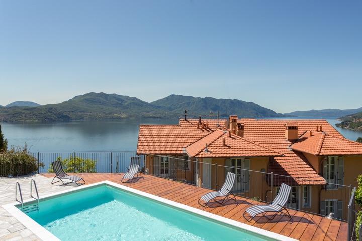 villa paradiso cannero riviera luxuri se g stezimmer in cannero riviera lago maggiore. Black Bedroom Furniture Sets. Home Design Ideas